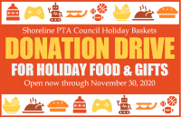 Holiday Food & Gift Donation Drive